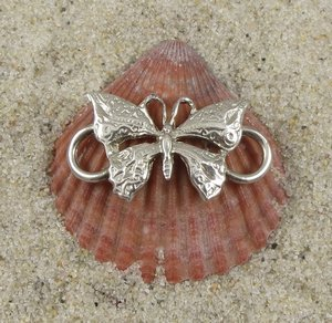 Cape Cod Convertible Bracelet Sterling Silver Butterfly Clasp
