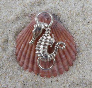 Cape Cod Convertible Bracelet Sterling Silver Sea Horse Clasp