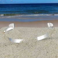 Marvelous Tipos Creations   Cape Cod Jewelry: Smooth Two Tone Convertible Bracelet